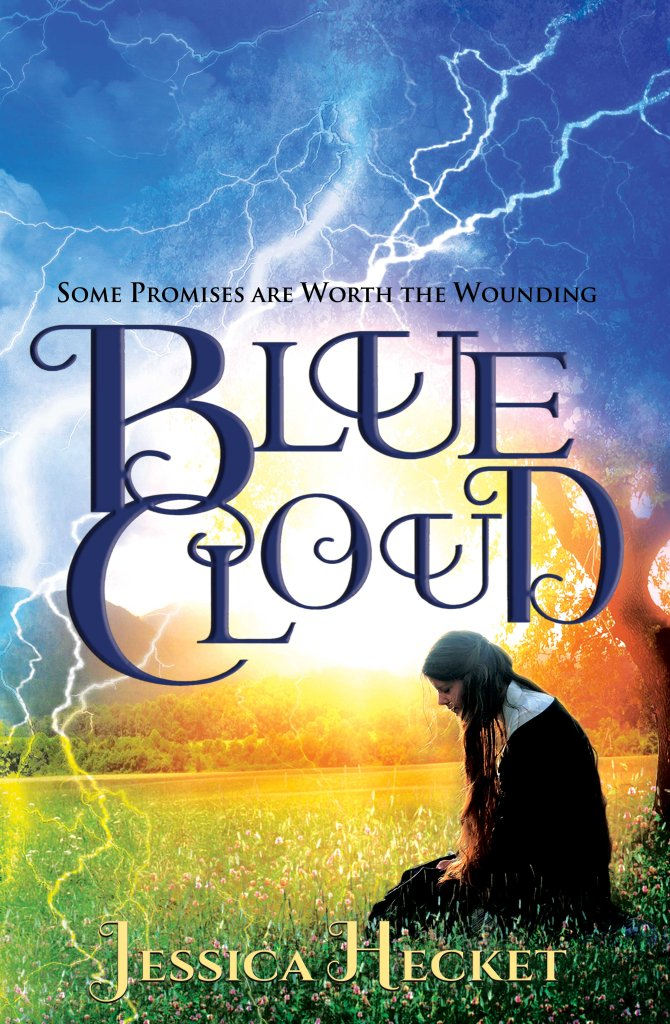 Book cover of Blue Cloud by Jessica Hecket