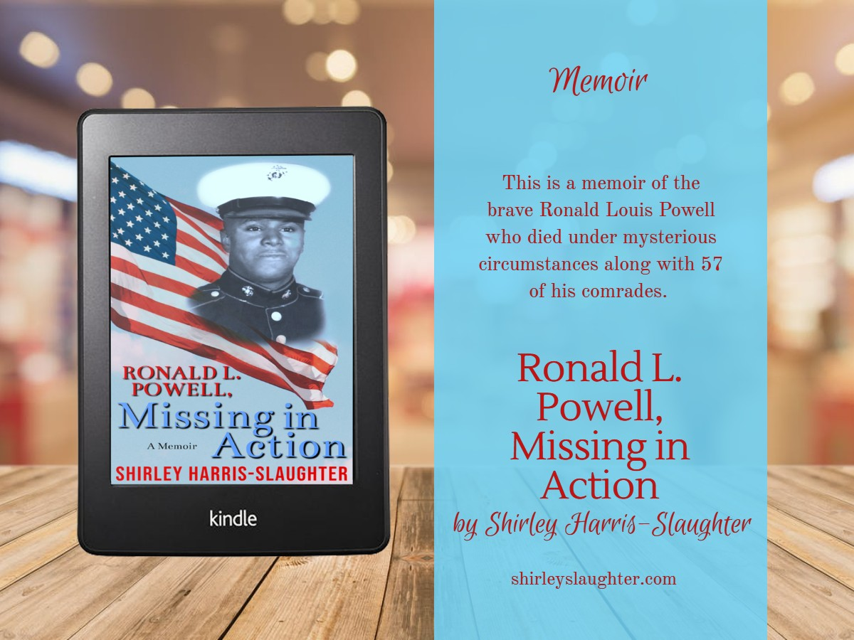 3D book image of Ronald L. Powell, Missing in Action by Shirley Harris-Slaughter and a brief book description