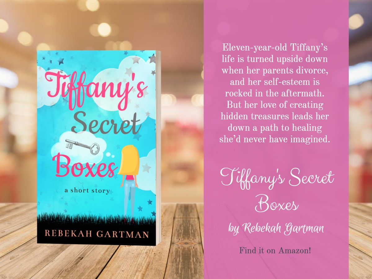 3D book image for Tiffany's Secret Boxes by Rebekah Gartman and a brief book description