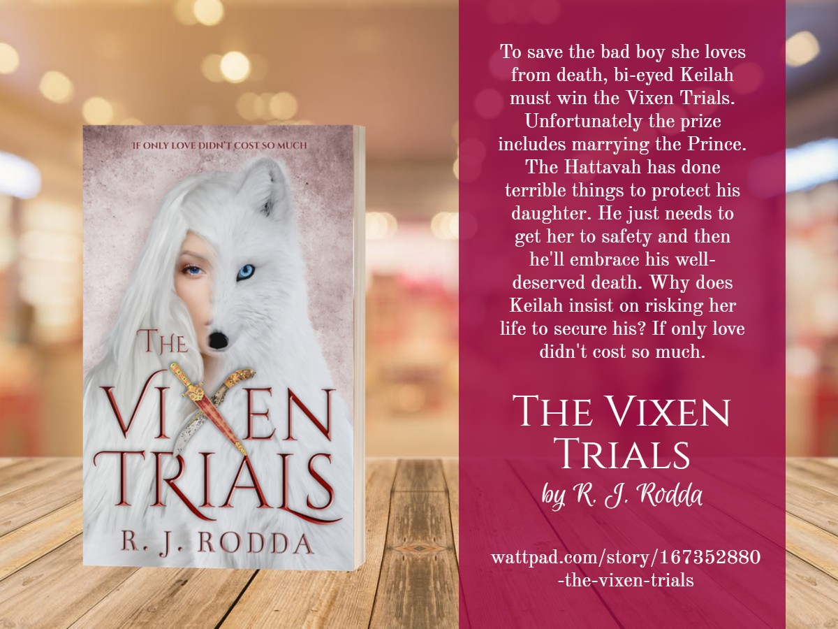 3D Book image of The Vixen Trials by R. J. Rodda and a brief book description