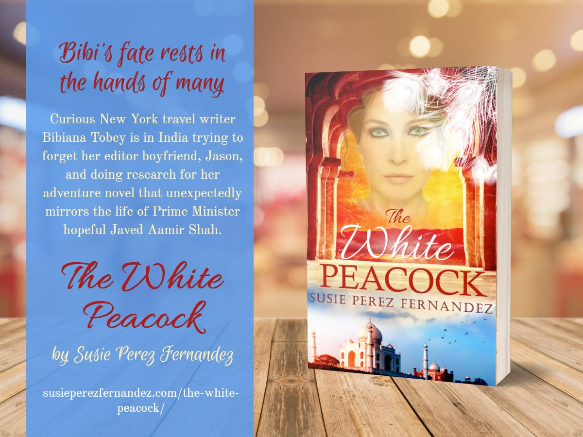3D Book image of The White Peacock by Susie Perez Fernanadez with a brief book description