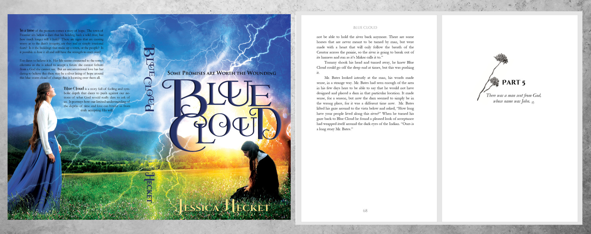 Example image of book Blue Cloud by Jessica Hecket