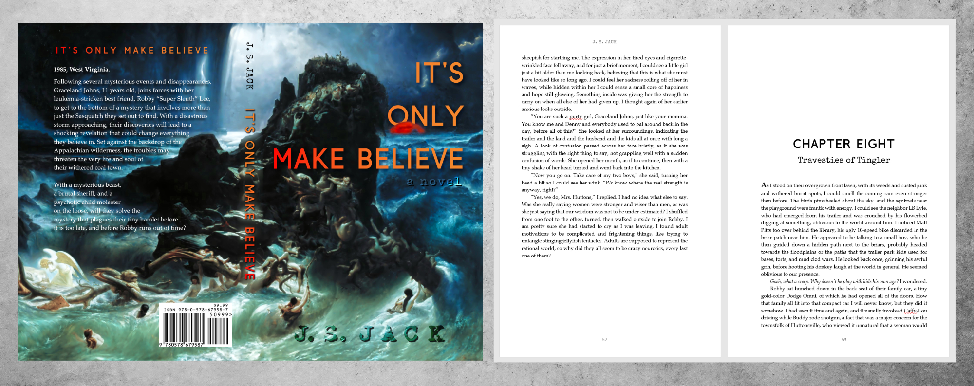 Example image of book It's Only Make Believe by J. S. Jack