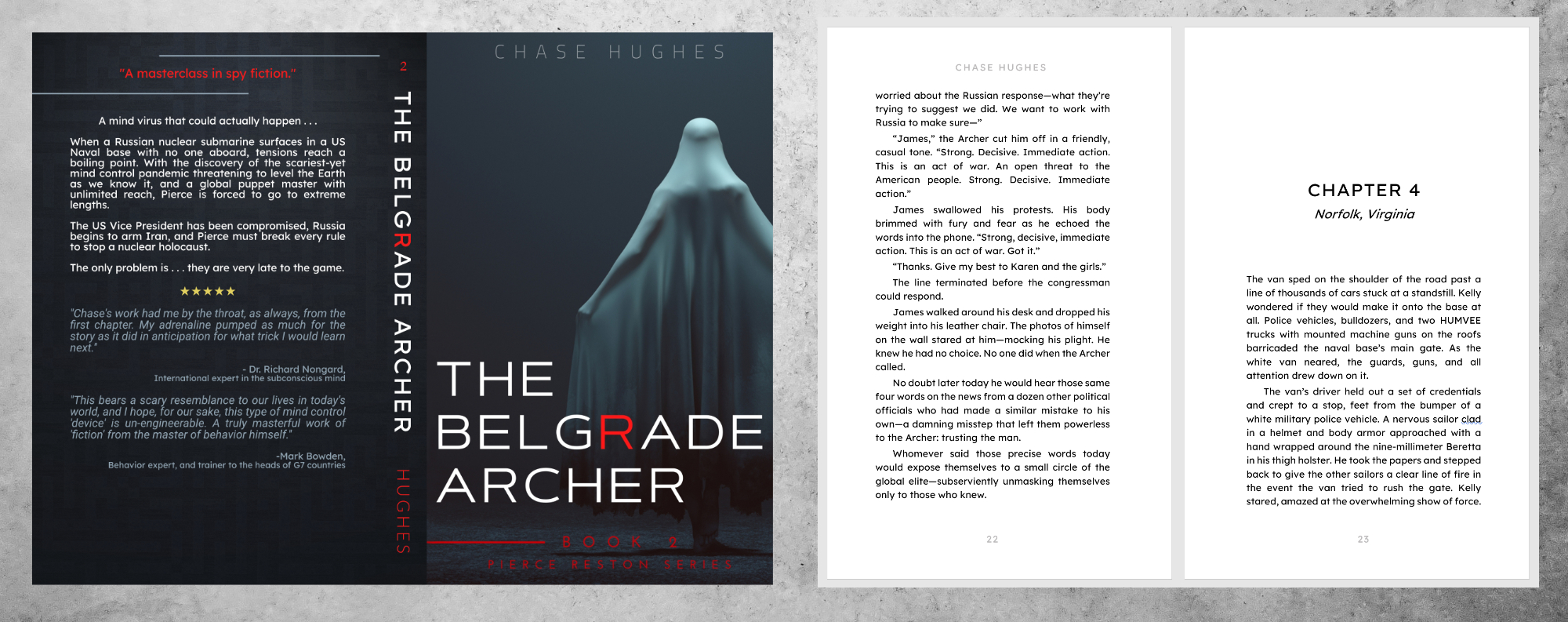 Example image of book The Belgrade Archer by Chase Hughes