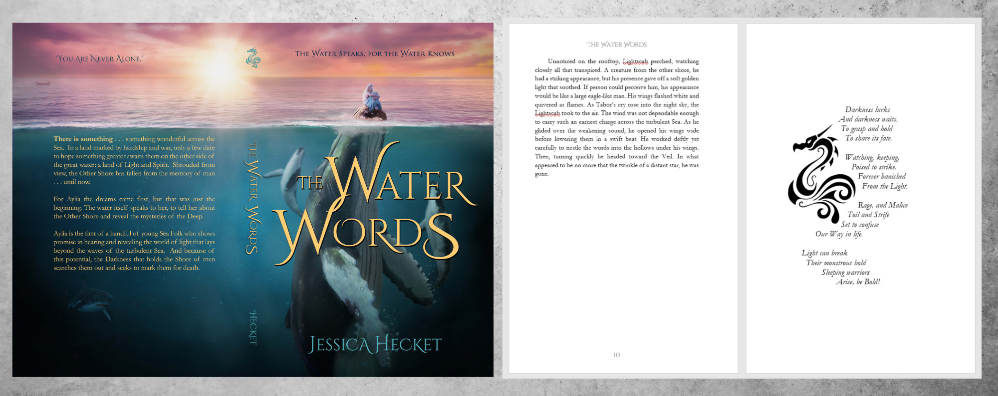 Example image of book Water Words by Jessica Hecket
